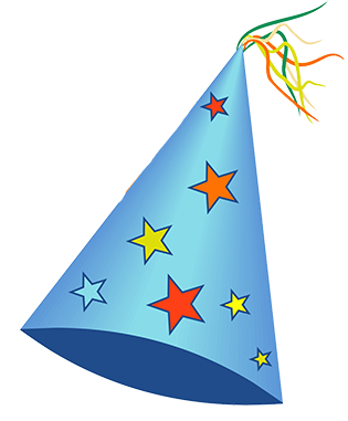 315x381 Birthday Hat Party Clipart Transparent Background 2