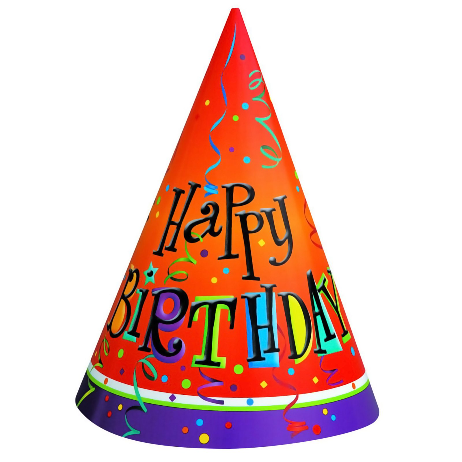 1600x1600 Birthday Hat Transparent Background Free Clipart 4