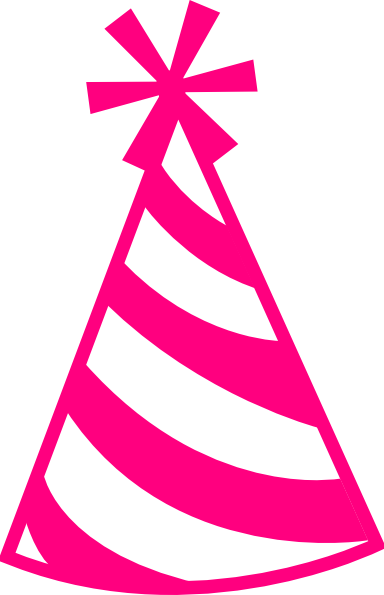 384x595 Clipart Birthday Hat