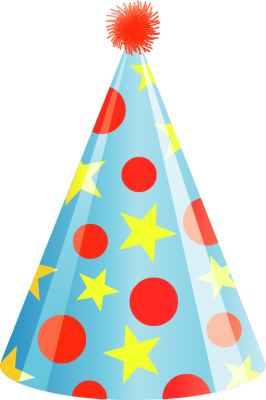 266x400 Hat Clipart Happy Birthday