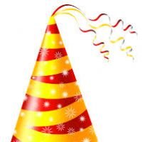 200x200 Birthday Hat Clipart No Background