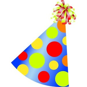 300x300 Birthday Hat Transparent Background Clipart Panda