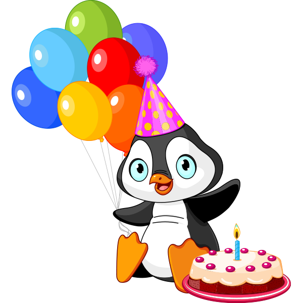 600x600 Birthday Party Penguin Penguins, Clip Art And Tatty Teddy