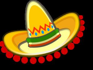 300x225 Sombrero Mexican Hat Clip Art