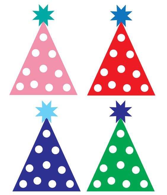564x658 Party Hat Clipart