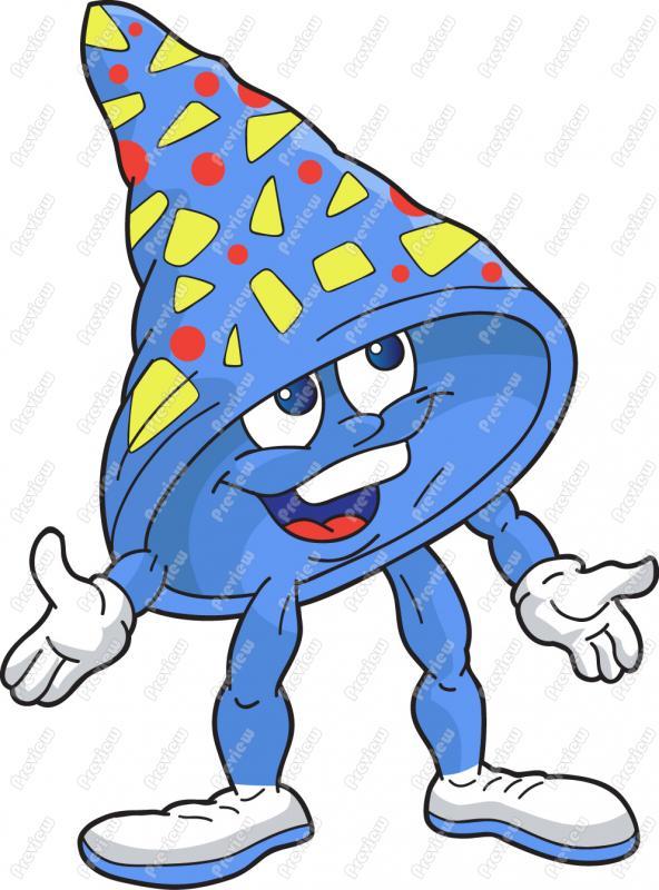 592x800 Birthday Hat Clip Art