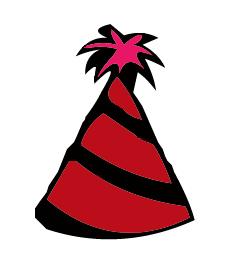 231x268 Birthday Hat Clipart