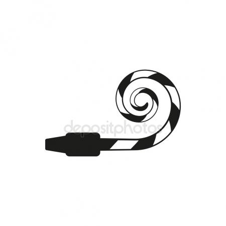 450x450 Party Horn Blower Stock Vectors, Royalty Free Party Horn Blower