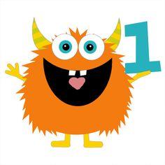 236x236 Birthday Clipart Little Monster