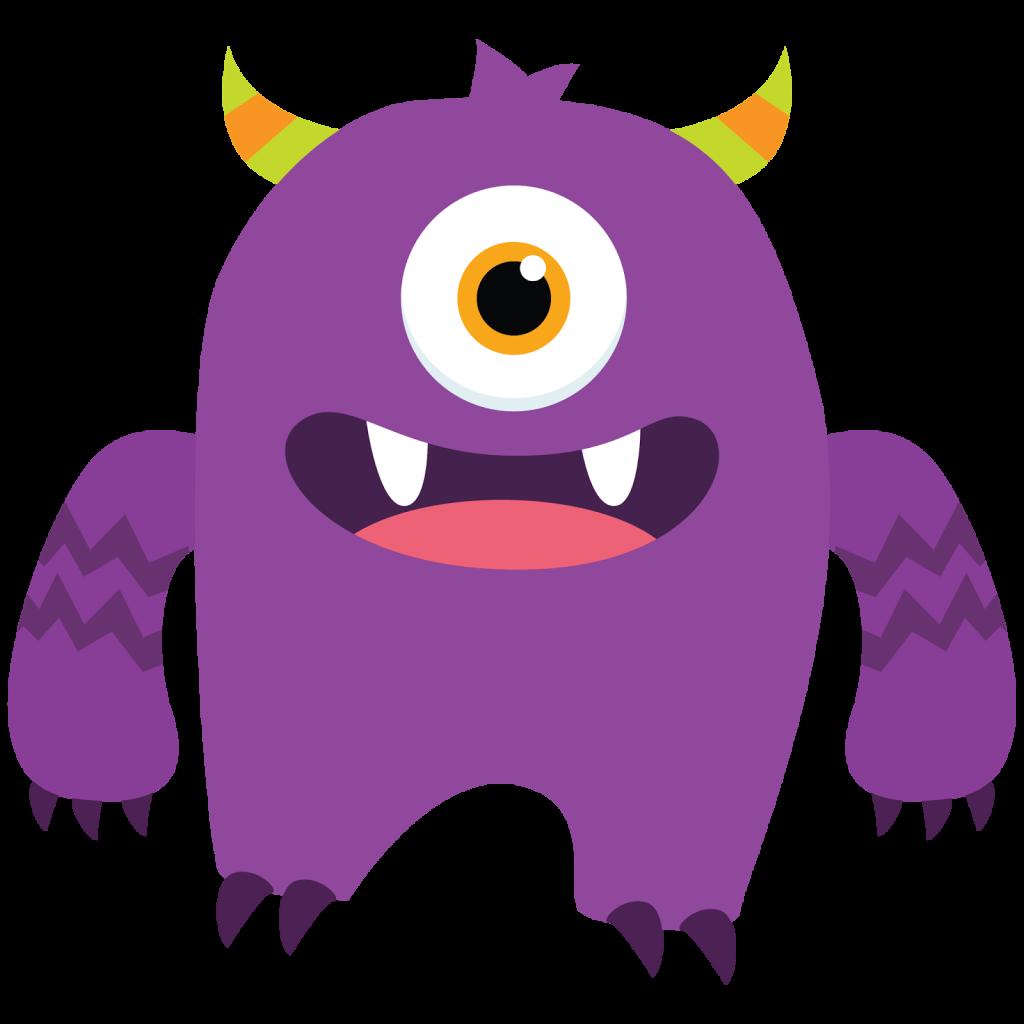 1024x1024 Alien Clipart Little Monster