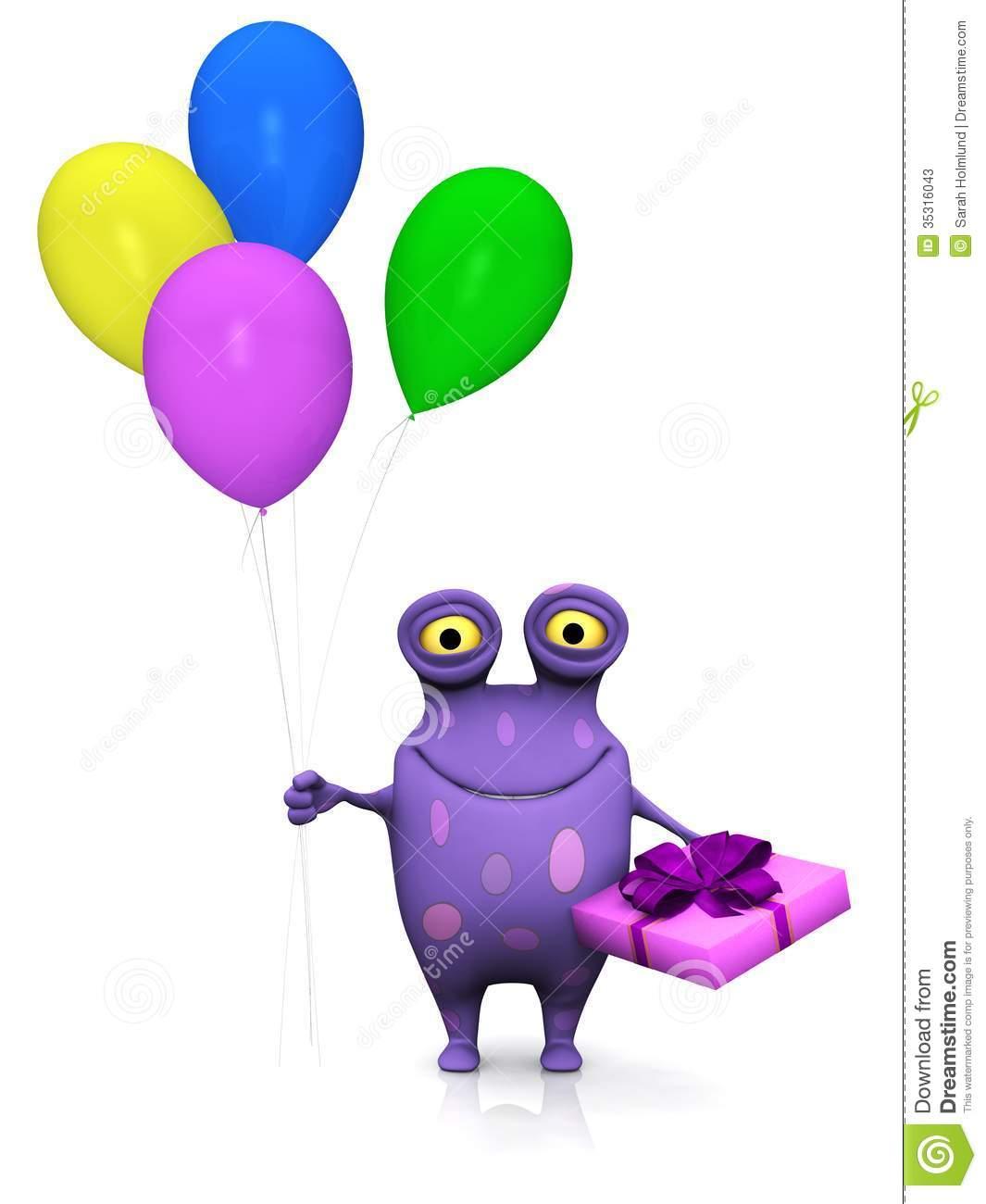 1065x1300 Balloon Clipart Monster
