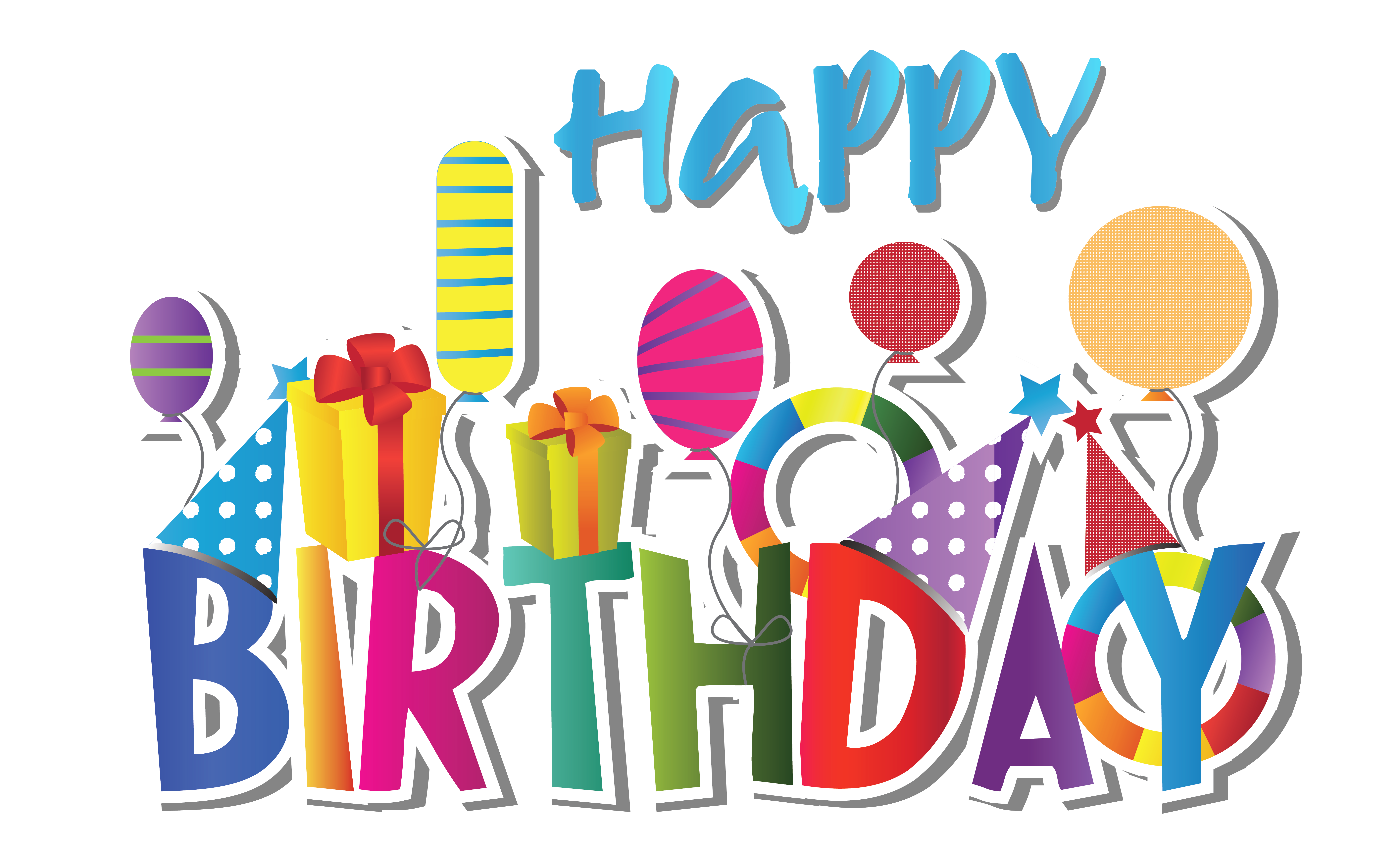 Birthday Numbers Clipart | Free download best Birthday ...