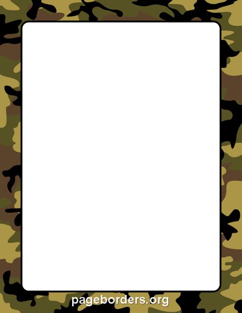 470x608 Camouflage Border