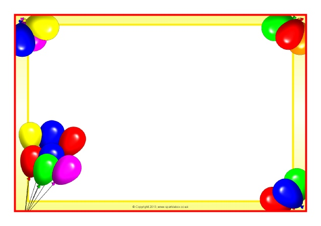 637x450 28 Images Of Party Borders Template