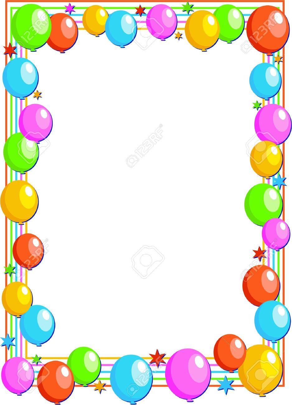 937x1300 Balloons Border Group