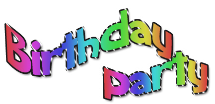 433x210 Kids Birthday Party Clip Art Clipart Panda