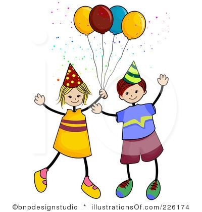400x420 Birthday Party Images Clip Art