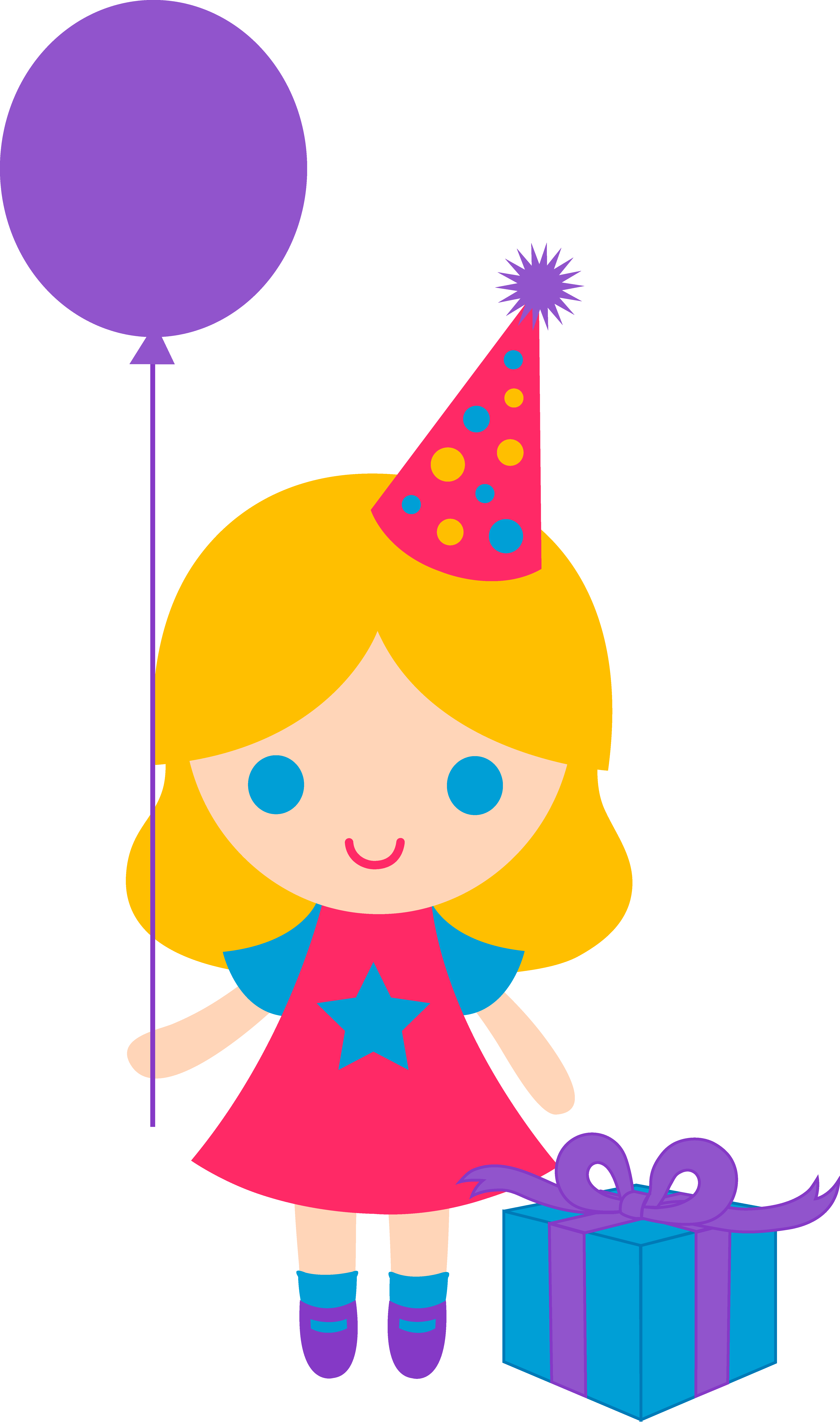 4986x8442 Gift Clipart Birthday Decoration