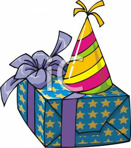 266x300 Gift Clipart Birthday Hat