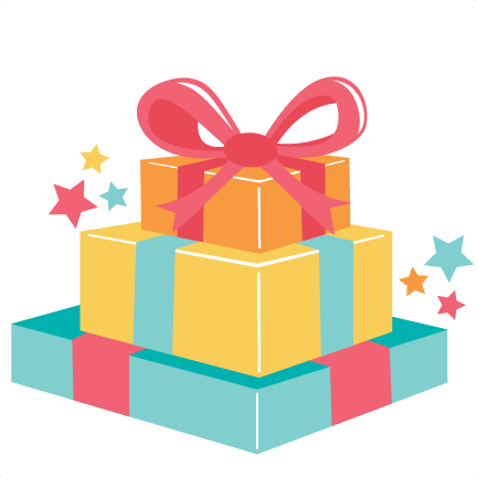 432x432 Gift Clipart Stacked