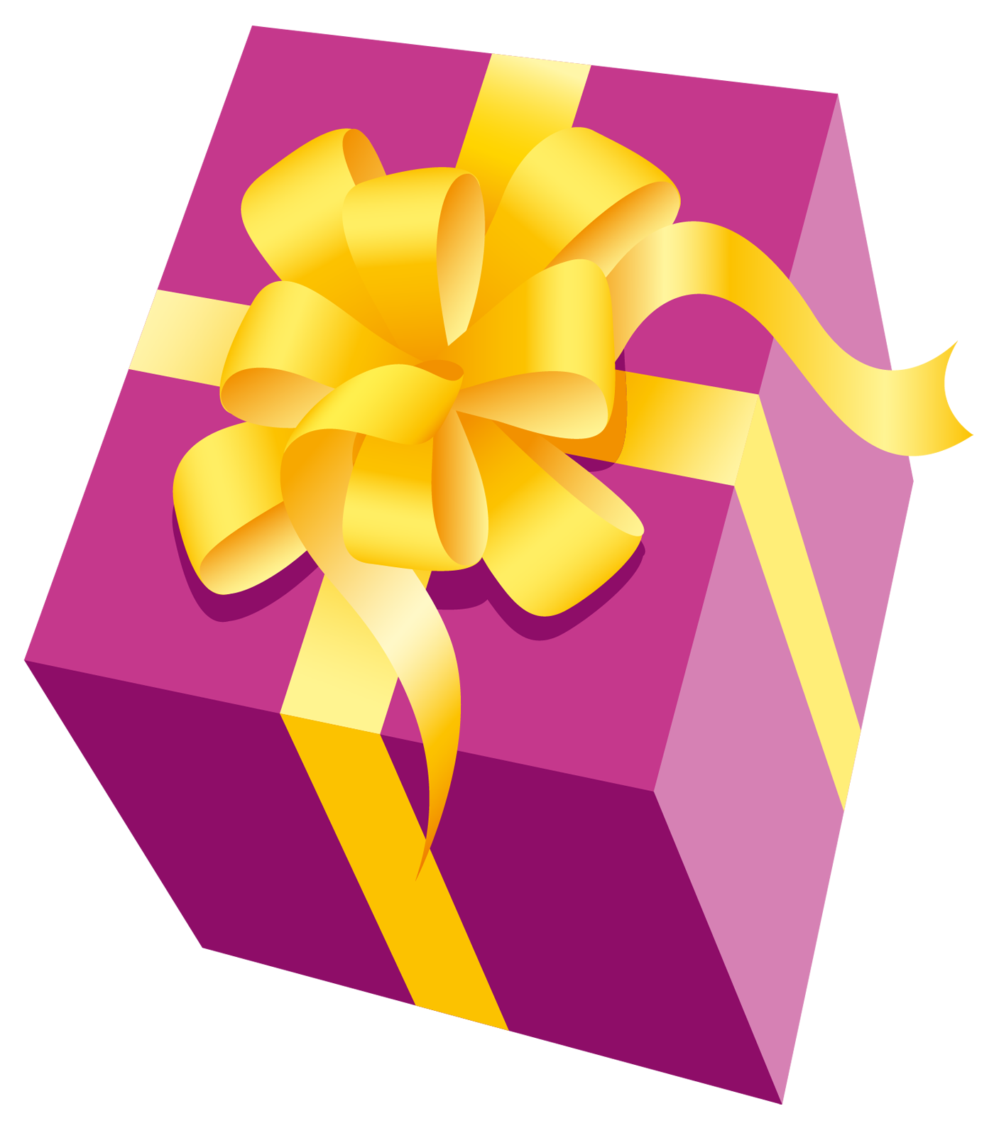 1400x1589 Gift Clipart Yellow