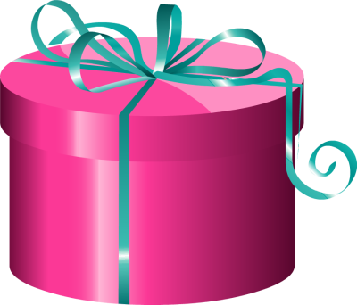 400x342 Wrapped Birthday Presents Clipart