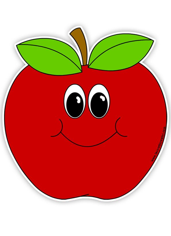 Bitten Apple Clipart