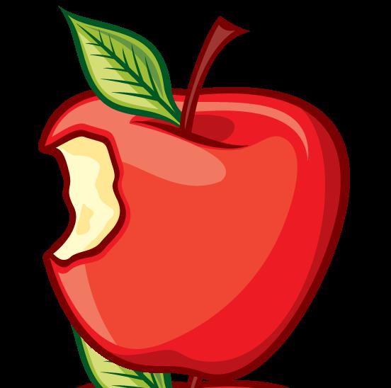 552x548 Apple Clipart Cartoon