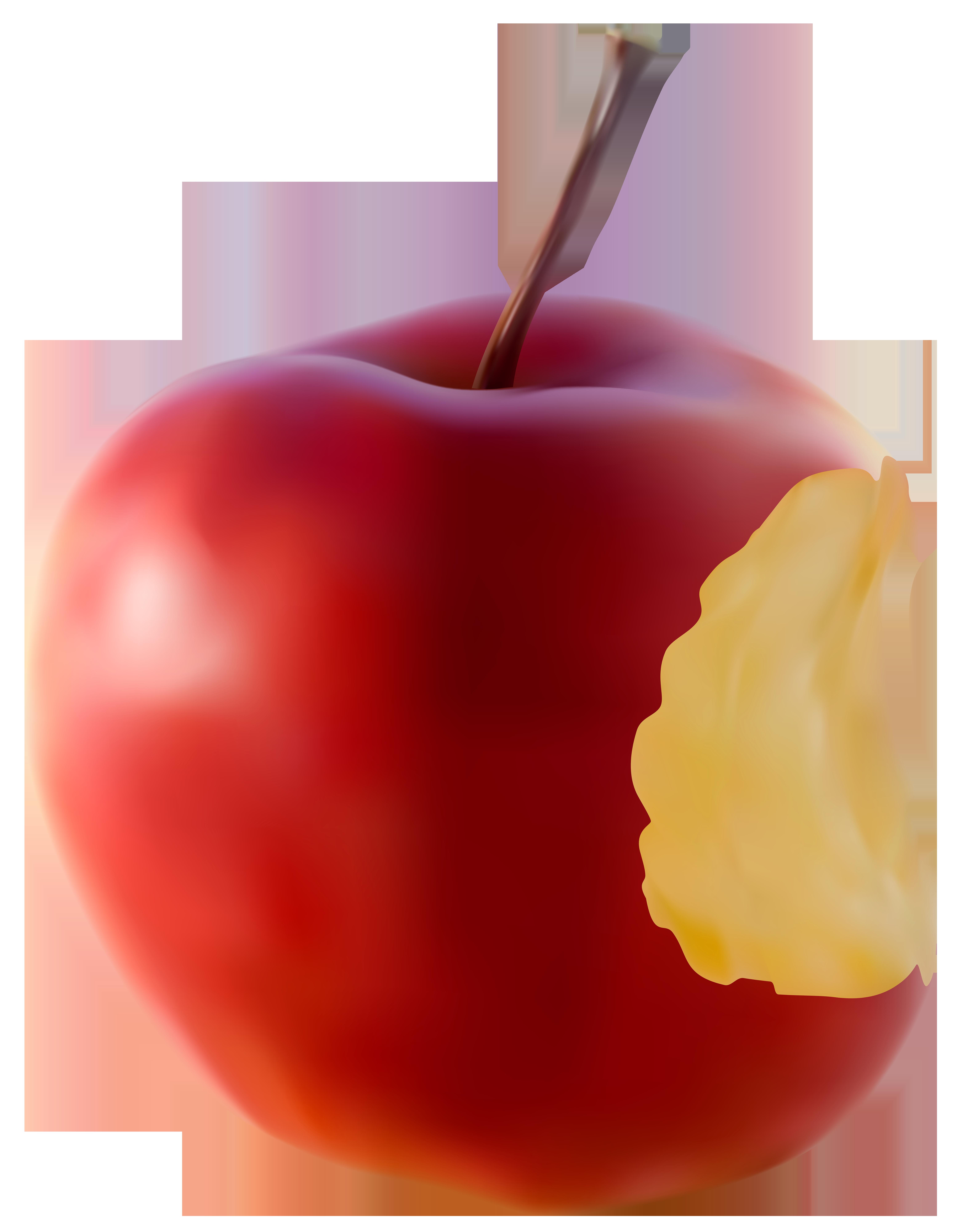 6359x8000 Bitten Apple Red Transparent Clip Art Imageu200b Gallery