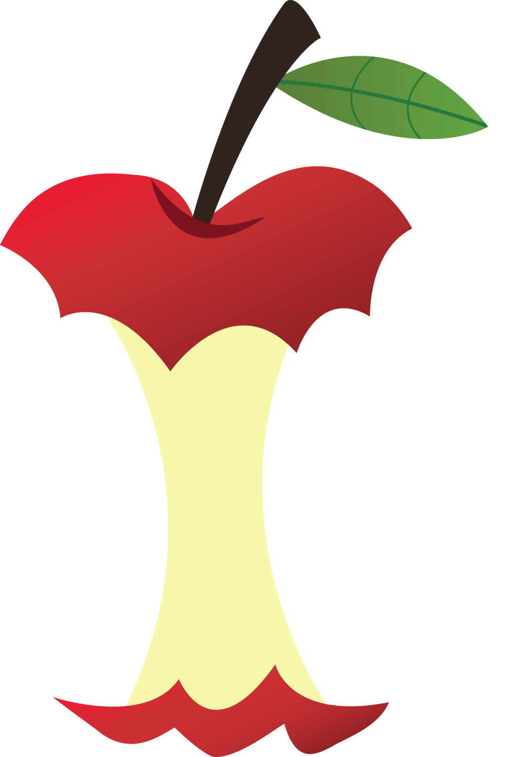 1024x1508 Apple With A Bite Out Of It Clipart