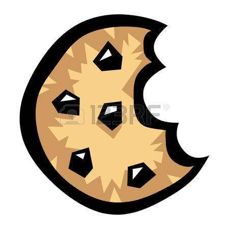 Bitten Cookie Clipart