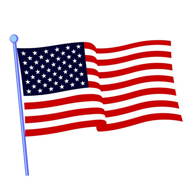 600x606 Best American Flag Clip Art Ideas American Flag