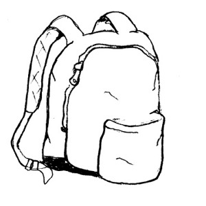 300x300 Free Backpack Clipart Public Domain Backpack Clip Art Images Image
