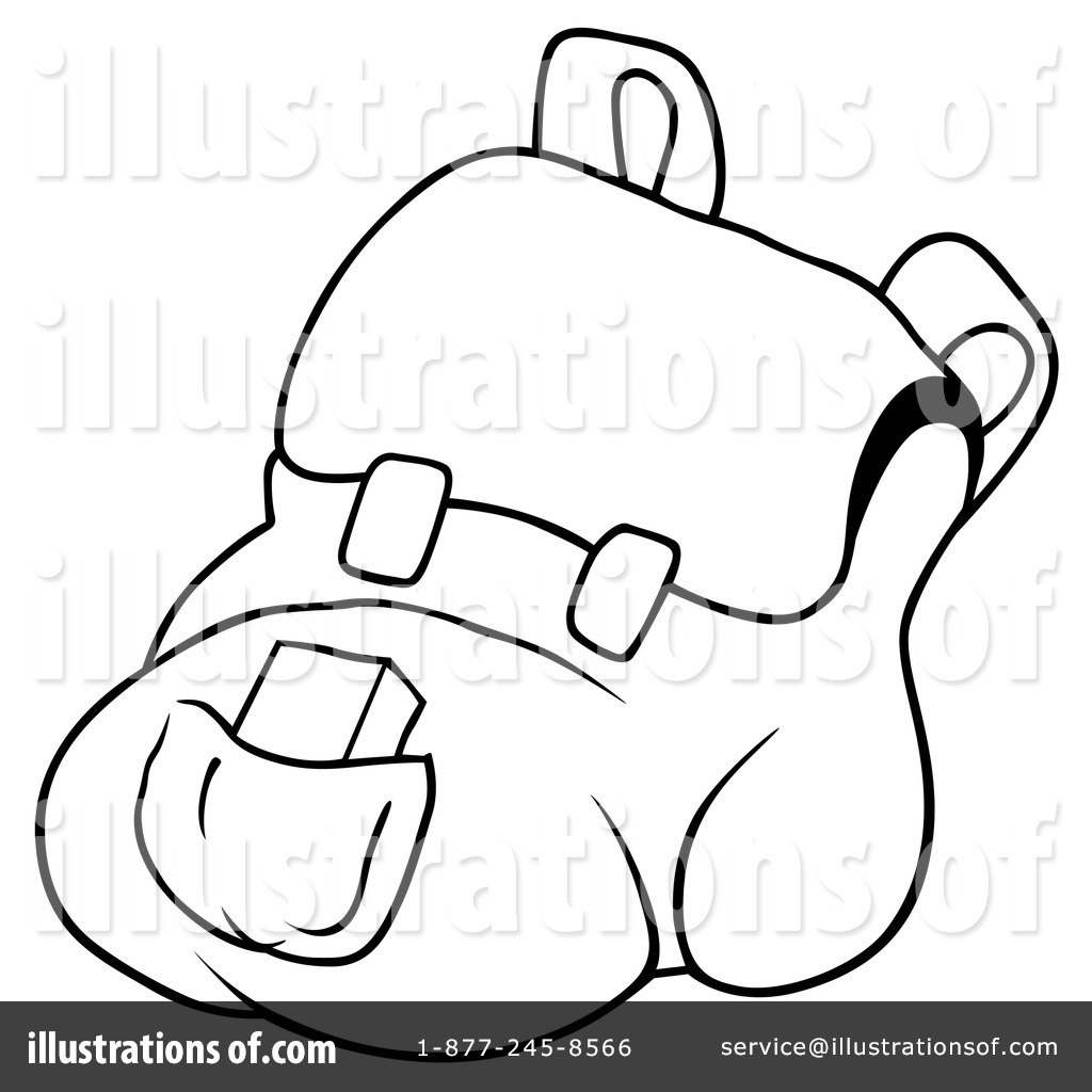 1024x1024 Backpack Clipart