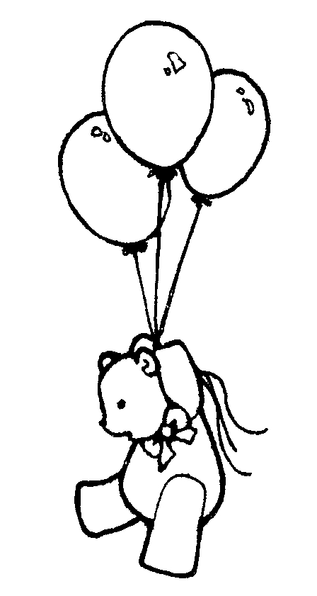 448x841 Black And White Balloon Clipart
