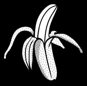 Black And White Banana