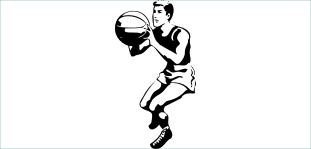 Black And White Basketball Pictures