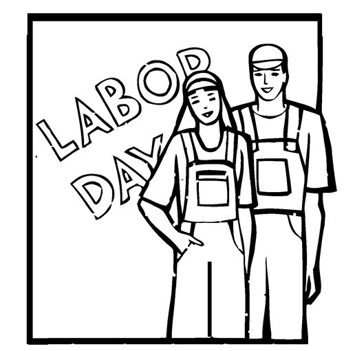 500x510 Funny Labor Day Clip Art