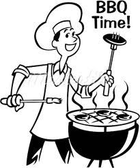Black And White Bbq Clipart | Free download best Black And ...