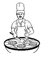 153x196 Bbq Black And White Clipart