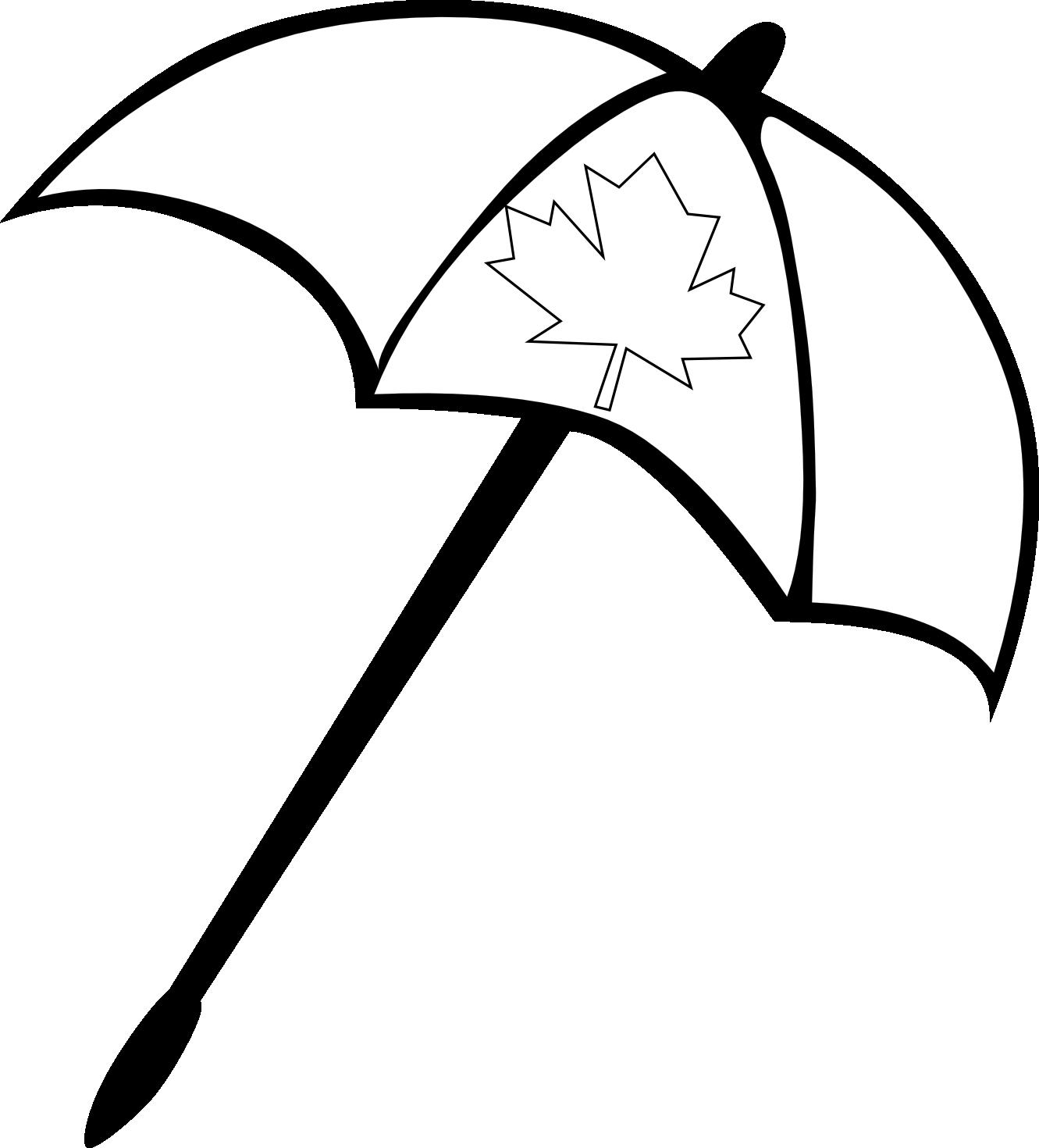 Clip Art Beach Blanket: Black And White Beach Clipart