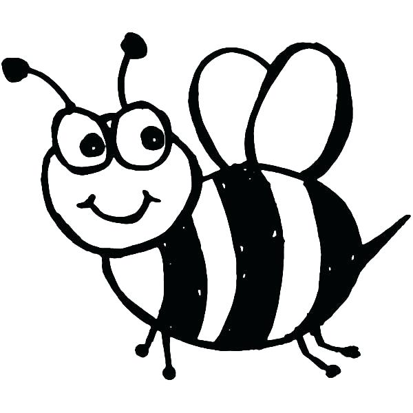 600x600 Bumble Bee Clipart Fresh Bumble Bee Coloring Page In Download