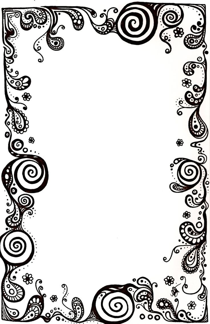 Black And White Border | Free download best Black And White