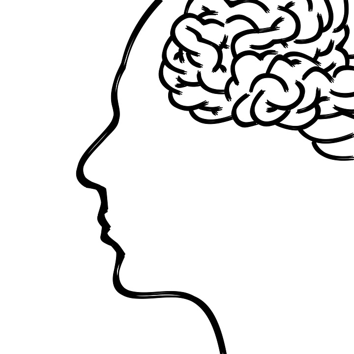 Black And White Brain