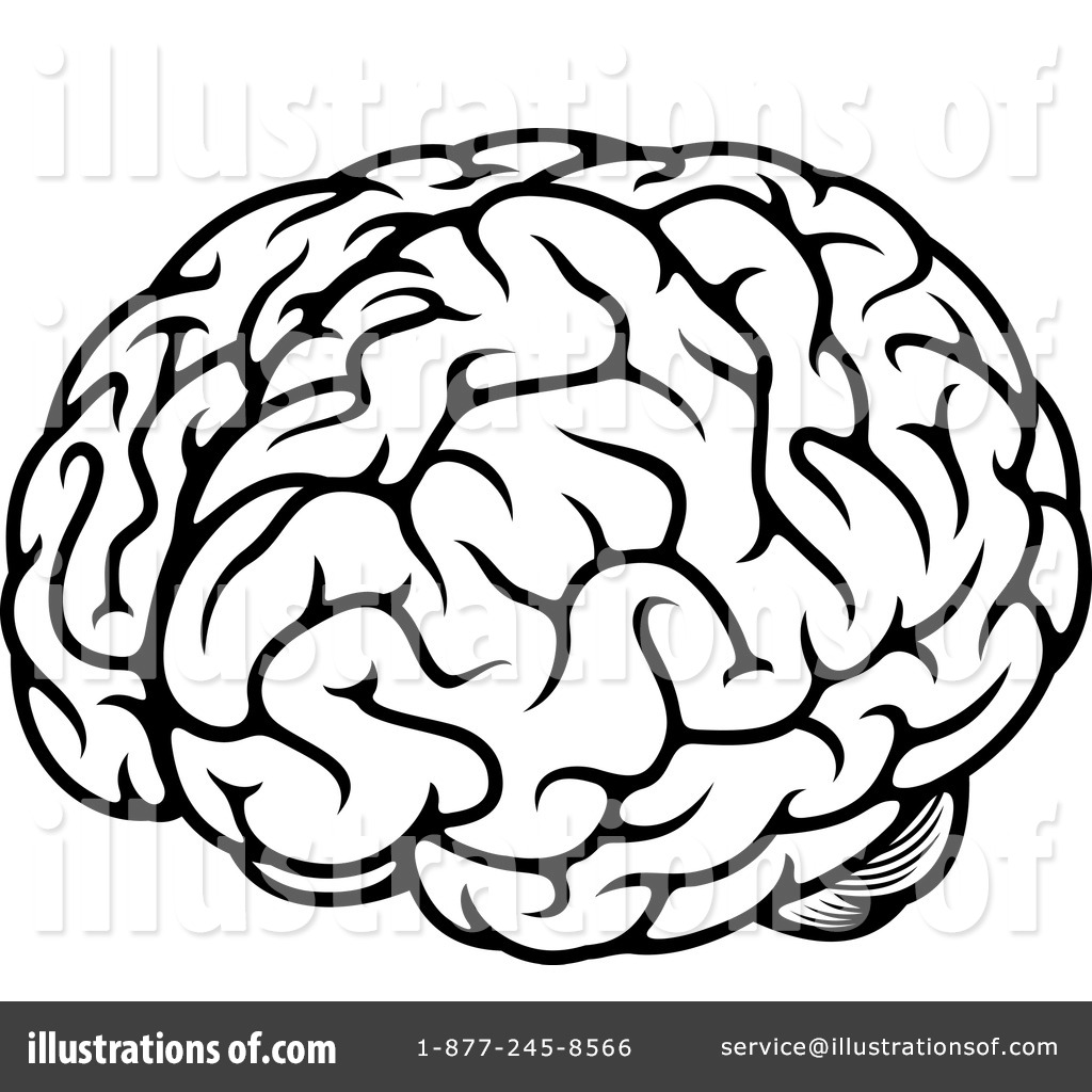 Black And White Brain Free Download Best On Royalty Clip Art Image Simple Drawing Of A Circuit Board 1024x1024 Clipart