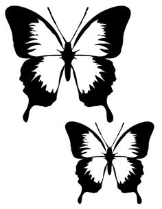 236x305 Butterfly Clip Art Stenciling, Butterfly And Silhouettes