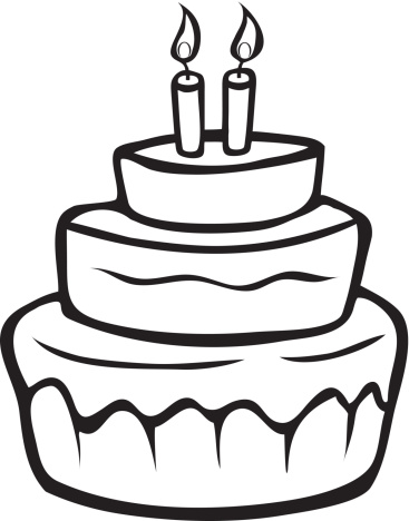 Black And White Cake Clipart Free Download Best Black