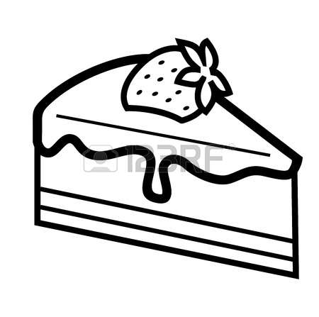 450x447 Cake Slice Clipart Black And White, Free Cake Slice Clipart Black