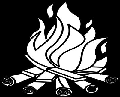 400x322 Bonfire Cliparts Black 182679