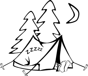 300x260 Camping Clip Art Picture Of A Camp Clipart